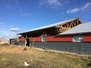 Réparation de bâtiment agricole Jm Poirier Construction
